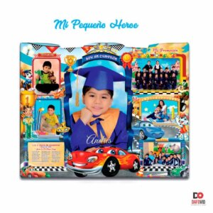 Diploma biomadera Mi pequeño heroe niños