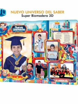 Diploma biomadera Nuevo universo del saber