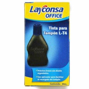 Tinta para tampon L-T4 LAYCONSA