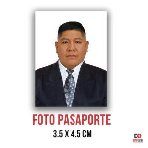 Foto pasaporte DNI